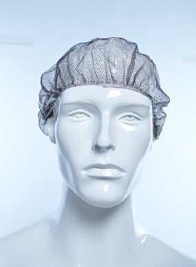 disposable nylon mesh hair cap,hairnets,head covers