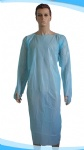 disposable standard thumb loop cpe gowns